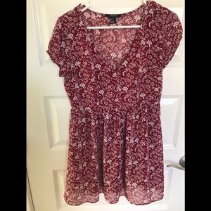 Forever 21 Size Small Floral Dress
